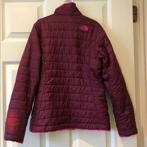 The North Face Jackets & Coats - Girls reversible North face jacket (size 10)